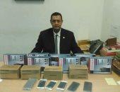 جمارك مطار برج العرب تضبط محاولتى تهريب كمية من أجهزة اللاسلكى