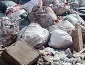 شكوى من تراكم القمامة بمنطقة الإسكان الاجتماعى بمسطرد
