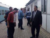 رئيس هيئة السكة الحديد يتفقد ورش فرز القاهرة لمتابعة أعمال الصيانة