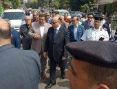 محافظ القاهرة يستهل جولاته الميدانية بتفقد تطوير السيدة عائشة