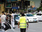 المرور يضبط 12 سيارة ودراجة بخارية متروكة فى حملات بالجيزة
