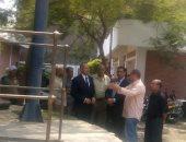 نائب محافظ القاهرة يجرى أولى جولاته الميدانية بالمرج ويتفقد محطة مياه الشرب