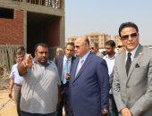 محافظ القاهرة يوجه بسرعة الانتهاء من إنشاء سوق التونسى الجديد
