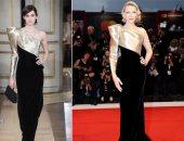 """كيت بلانشيت فى مقارنة مع عارضة أزياء دار """" Armani Privé """".. اعرف التفاصيل"""