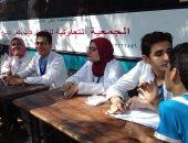 صور ..رئيس مدينة فوة بكفر الشيخ: تم إجراء الكشف الطبي على 450 شخصاً