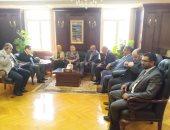 محافظ الأسكندرية يلتقى بحزب المصريين الأحرار لبحث مشاكل المحافظة