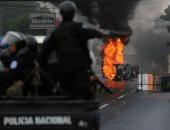 صور..إصابة شخصين بالرصاص خلال احتجاجات عنيفة ضد الرئيس أورتيجا فى نيكاراجوا