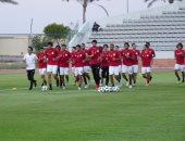19 لاعبًا فى مران المنتخب الأول استعدادًا لمواجهة تونس الجمعة