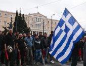 إضراب عمال العبارات اليونانيون عن العمل للمطالبة برفع الأجور