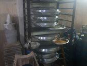 ضبط كمية دقيق حلويات داخل مصنع بدون ترخيص فى مدينة العاشر من رمضان
