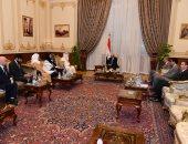 """رئيس البرلمان يستقبل أمين عام مجلس النواب البحريني.. """"صور"""""""