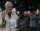 صور.. مظاهرات فى الأرجنتين احتجاجا على الأوضاع الاقتصادية بالبلاد