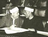 إمام الدعاة فى رحاب السياسة.. صورة نادرة للشيخ الشعراوى بمجلس الشعب