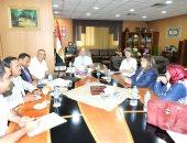 جامعة المنصورة تبحث تفاصيل عقد المؤتمر الدولى السادس لجمعية استكشاف مصر