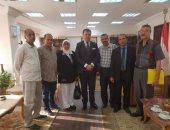 حسين زين يلتقى رؤساء النقابات المهنية بالوطنية للإعلام