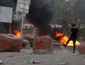 وسائل إعلام عراقية: محتجون يحرقون مقر حزب الدعوة الحاكم فى محافظة البصرة
