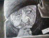 """""""رضوى"""" تشارك صحافة المواطن بموهبتها.. وتؤكد: أتمنى أكون رسامة عالمية"""