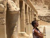 اليشيا كيز تقلد ملكة فرعونية.. تعرف عليها