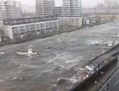 اصطدام ناقلة نفط بجسر يربط بين مطار كانساي ومدينة إزوميسانو اليابانية
