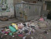 شكوى من انتشار القمامة بشارع عمار بن ياسر فى بورسعيد