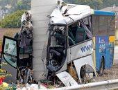 مصرع 27 شخصا جراء اصطدام حافلة بعربة صغيرة فى غرب الهند