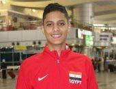 عبد الرحمن خلف يتوج بذهبية بطولة روسيا المفتوحة للتايكوندو للشباب
