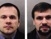 """شاهد.. الشرطة البريطانية تنشر صور المتهمين بتسمم الجاسوس """"سيرجى"""""""