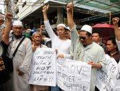تظاهرات للمعارضة فى سريلانكا للمطالبة باستقالة الحكومة