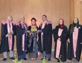 جامعة المنصورة تحتفل بتخريج أول دفعة تم تطبيق نظام الساعات المعتمدة عليها