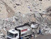 شكوى من انتشار تلال القمامة بالحى الثامن بمدنية نصر