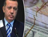 شاهد فى دقيقة..كيف دمرت سياسة أردوغان العملة التركية أمام الدولار × 4سنوات