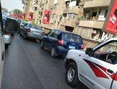المرور تعزز من انتشار الخدمات بمحيط إصلاحات كوبرى الدقى لمنع الزحام
