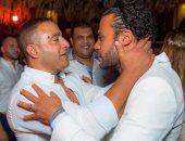 صور جديدة لحفل زفاف محمد إمام