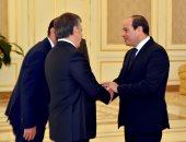 انطلاق أعمال القمة المصرية الأوزبكية بين الرئيس السيسى ونظيره ميرضيائيف