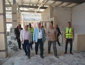 رئيس مترو الأنفاق يتفقد محطة المرج الجديدة لمتابعة أعمال التطوير