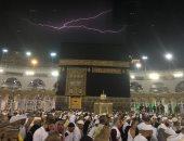 فيديو وصور.. هطول أمطار غزيرة على مكة المكرمة