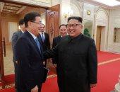 صور.. كيم يجدّد تعهّده بإخلاء شبه الجزيرة الكورية من السلاح النووى