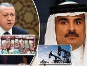 قطريليكس: استنزاف موارد الدوحة هدف سلطان الأوهام التركى أردوغان