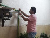 شركه الجيزة تؤكد على سلامة مياه الشرب بشارع العشرين فيصل