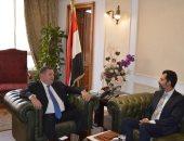 """وزير قطاع الأعمال يلتقى ممثل صندوق النقد.. و""""باكير"""" يشيد بخطة إصلاح الشركات"""