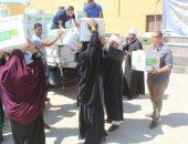 لليوم الثالث.. قافلة الأزهر لشمال سيناء توزع 1500 عبوة غذائية وكسائية