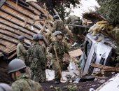 توقف القطارات وإصابة العشرات بعد زلزال قوى فى اليابان