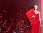 اللون الأحمر يسيطر على أسبوع الموضة بنيويورك فى ربيع 2019