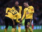 بلجيكا بالقوة الضاربة أمام آيسلندا بدورى الأمم الأوروبية