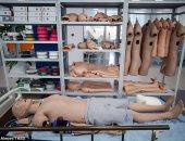 دمى روبوتية تحاكى المرضى لتدريب طلاب الطب يمكنها البكاء والسعال