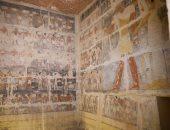 الآثار: مقبرة ميحو أجمل مقابر الدولة القديمة فى سقارة