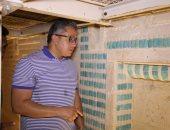 صور.. وزير الآثار يتفقد الأعمال الجارية بالمقبرة الجنوبية للملك زوسر