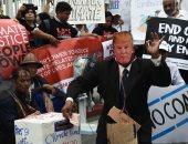 صور.. مظاهرات فى بانكوك تسخر من ترامب وتطالب بتطبيق اتفاق باريس للمناخ