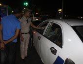 ضبط 6 سائقين من متعاطى المخدرات فى حملة مرورية بالإسماعيلية