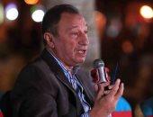 الخطيب مداعباً رئيس بريزنتيشن بعد رعاية الأهلى: محمد كامل بياع كويس.. فيديو